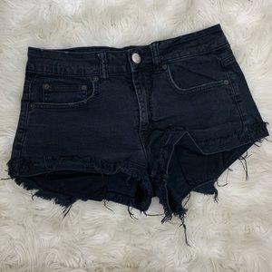 🌛AEO 🌛 hi rise festival distressed shorts